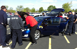First Responders and Nissan Leaf