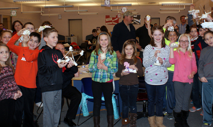CEL students show off their creations