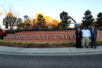 Jackson State University Entrance with Presenters